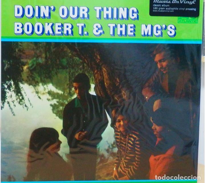 Discos de vinilo: BOOKER T & THE MG'S * LP 180g audiophile vinyl pressing * DOIN' OUR THING - Foto 6 - 219665641