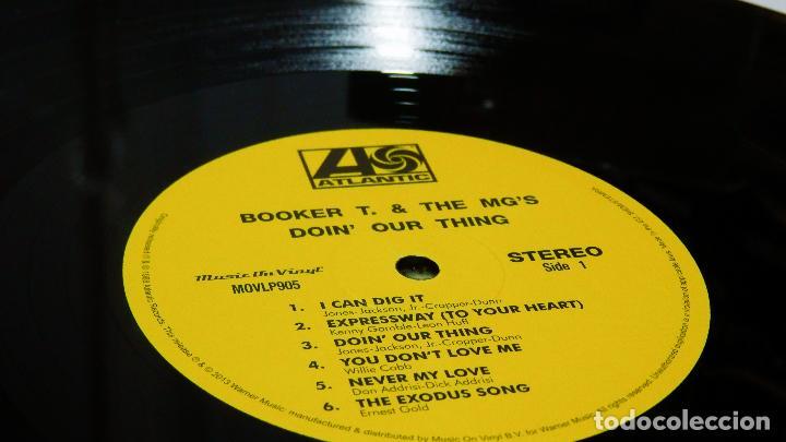 Discos de vinilo: BOOKER T & THE MG'S * LP 180g audiophile vinyl pressing * DOIN' OUR THING - Foto 7 - 219665641