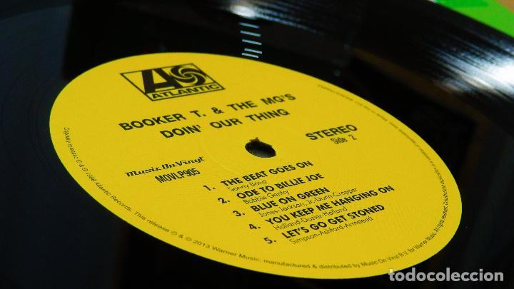 Discos de vinilo: BOOKER T & THE MG'S * LP 180g audiophile vinyl pressing * DOIN' OUR THING - Foto 8 - 219665641