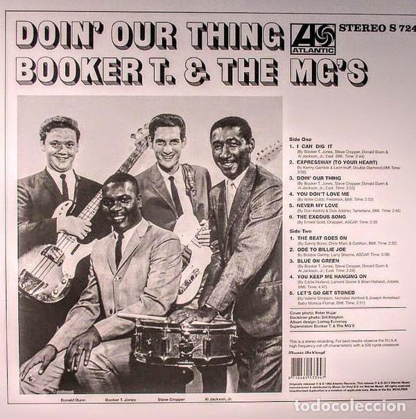 Discos de vinilo: BOOKER T & THE MG'S * LP 180g audiophile vinyl pressing * DOIN' OUR THING - Foto 9 - 219665641