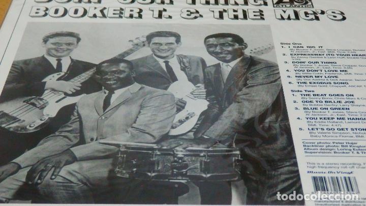 Discos de vinilo: BOOKER T & THE MG'S * LP 180g audiophile vinyl pressing * DOIN' OUR THING - Foto 11 - 219665641