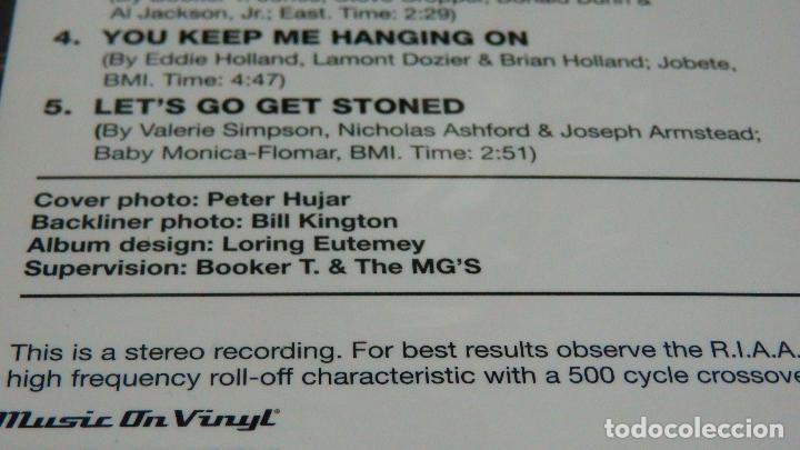 Discos de vinilo: BOOKER T & THE MG'S * LP 180g audiophile vinyl pressing * DOIN' OUR THING - Foto 4 - 219665641
