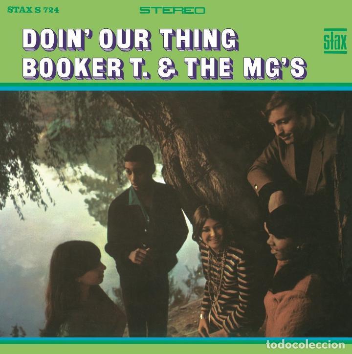 Discos de vinilo: BOOKER T & THE MG'S * LP 180g audiophile vinyl pressing * DOIN' OUR THING - Foto 5 - 219665641