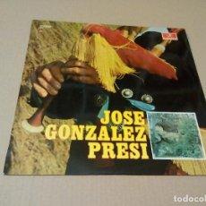 Discos de vinilo: JOSE GONZALEZ ''PRESI''- CANCIÓN ASTURIANA: TOCA LA GAITA, VOY PA LLANES (LP 1969, COLUMBIA C.7.003). Lote 76594183