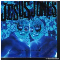 Discos de vinilo: JESUS JONES - THE DEVIL YOU KNOW / PHOENIX - SINGLE 1993. Lote 76595691