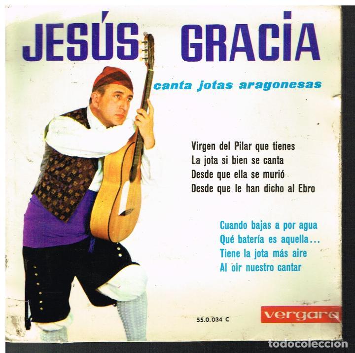JESUS GRACIA - JOTAS ARAGONESAS - EP 1963 (Música - Discos de Vinilo - EPs - Otros estilos)