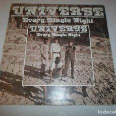 Discos de vinilo: UNIVERSE - EVERY SINGLE NIGHT MAXI-SINGLE. Lote 76619971