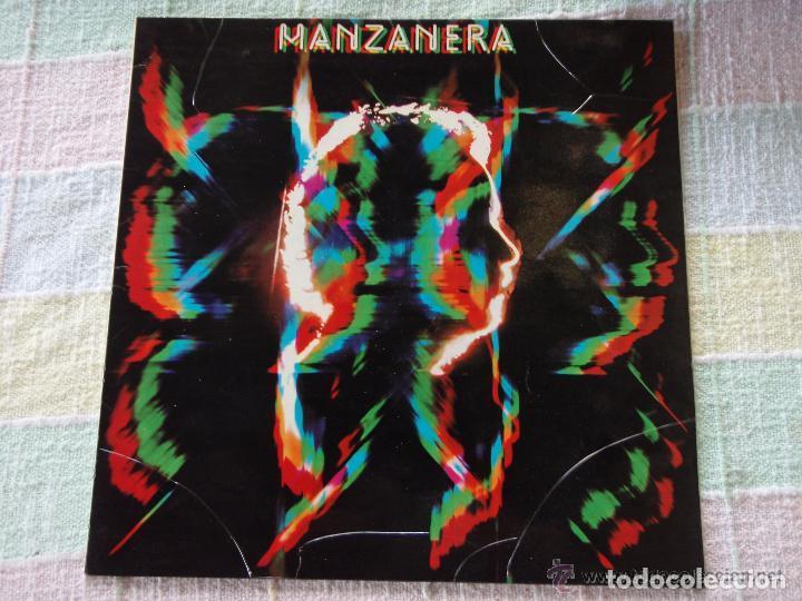 PHIL MANZANERA - MANZANERA (LP) EDIC. ESPAÑOLA - EX/EX++ (Música - Discos - LP Vinilo - Pop - Rock - Extranjero de los 70)