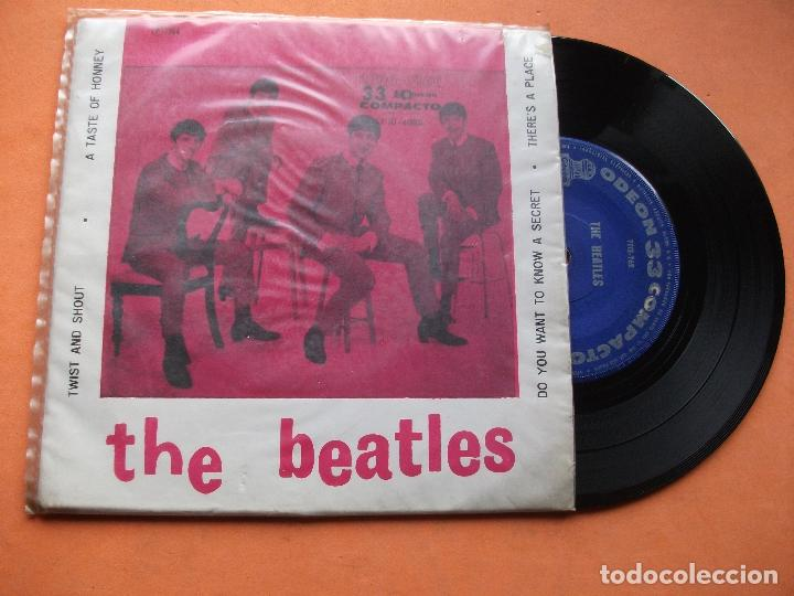 THE BEATLES TWIST AND SHOUT + 3 EP BRASIL 1964. PDELUXE. (Música - Discos de Vinilo - EPs - Pop - Rock Extranjero de los 50 y 60	)