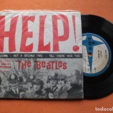 Discos de vinilo: THE BEATLES HELP + 3 EP BRASIL 1965 PDELUXE . Lote 76632939