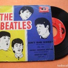 Discos de vinilo: THE BEATLES CON TONY SHERIDAN AINT SHE SWEET/ YA YA EP MEXICO 1964 PDELUXE. Lote 76633727