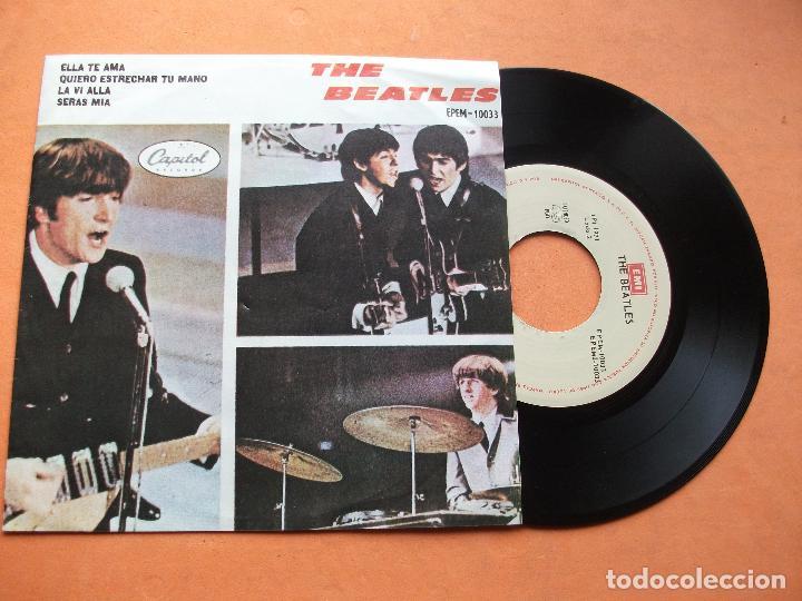 THE BEATLES SHE LOVES YOU / I'LL GET YOU EP MEXICO 1971 PDELUXE (Música - Discos de Vinilo - EPs - Pop - Rock Extranjero de los 70)