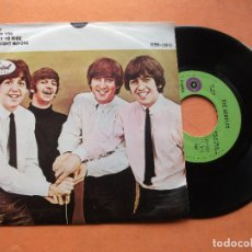 Discos de vinilo: THE BEATLES HELP / TICKET TO RIDE EP MEJICO 1972 PDELUXE. Lote 76634175