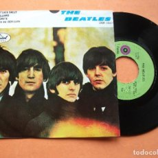 Discos de vinilo: THE BEATLES MATCHBOX / LONG TAL SALLY EP 1975 MEXICO PDELUXE . Lote 76634455