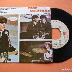 Discos de vinilo: THE BEATLES LOVE ME DO / LITTLE CHILD EP 1972 MEXICO . Lote 76634767