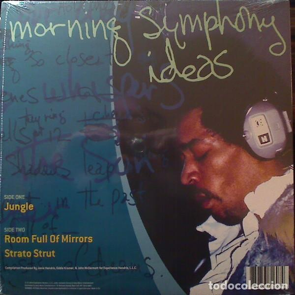 Discos de vinilo: JIMI HENDRIX MORNING SYMPHONY IDEAS EP 10 PULGADAS. EDICION LIMITADA VINILO AMARILLO - Foto 2 - 76647479