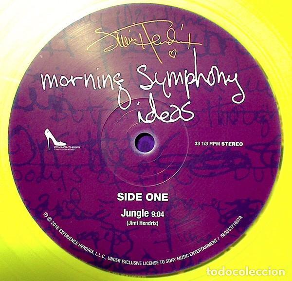 Discos de vinilo: JIMI HENDRIX MORNING SYMPHONY IDEAS EP 10 PULGADAS. EDICION LIMITADA VINILO AMARILLO - Foto 5 - 76647479