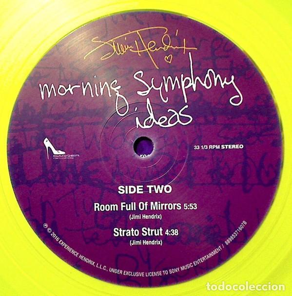 Discos de vinilo: JIMI HENDRIX MORNING SYMPHONY IDEAS EP 10 PULGADAS. EDICION LIMITADA VINILO AMARILLO - Foto 6 - 76647479