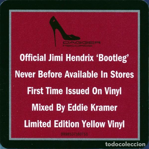 Discos de vinilo: JIMI HENDRIX MORNING SYMPHONY IDEAS EP 10 PULGADAS. EDICION LIMITADA VINILO AMARILLO - Foto 9 - 76647479