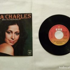 Discos de vinilo: SINGLE - TINA CHARLES - DISCOS - BAILA MUCHACHA BAILA - CBS - 1976. Lote 76649419