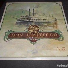 Discos de vinilo: JOHN HARTFORD --- MARK TWANG // COMO NUEVO. Lote 76665111