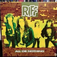 Dischi in vinile: RIFF - ALL OR NOTHING. Lote 76667323
