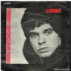 Disques de vinyle: J.J. BURNEL - FREDDIE LAKER / OZYMANDIAS - SINGLE 1979 - ED. ESPAÑA. Lote 76669435