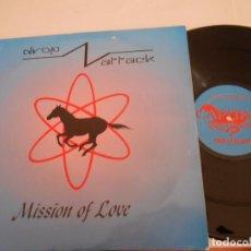 Discos de vinilo: DROP ATTACK ? -MAXI MISSION OF LOVE- ESPAÑOL 1994. Lote 76674939