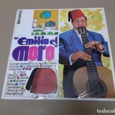 Discos de vinilo: EMILIO EL MORO (LP) EMILIO EL MORO AÑO 1969. Lote 76683367