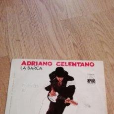 Discos de vinilo: SINGLE ADRIANÓ CELENTANO. Lote 76684205
