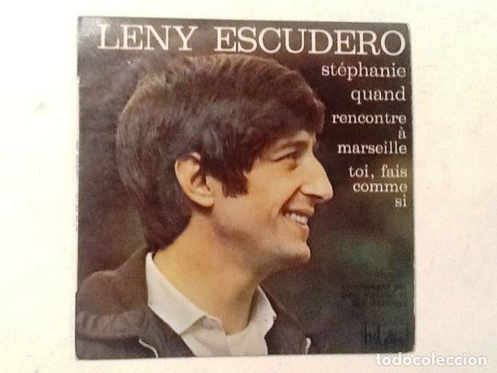 LENY ESCUDERO STEPHANIE - VINILO (Música - Discos - Singles Vinilo - Canción Francesa e Italiana)