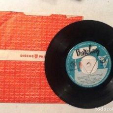 Discos de vinilo: EDDIE BARCLAY LOCAMENTE TE AMARÉ + 3 . Lote 76706175