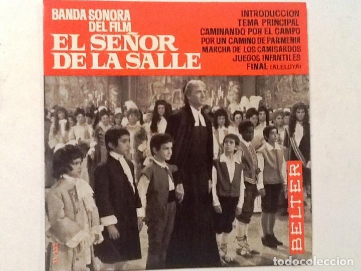 EL SEÑOR DE LA SALLE. BANDA SONORA DEL FILM . CAMINANDO POR EL CAMPO +6 (Música - Discos - Singles Vinilo - Bandas Sonoras y Actores)