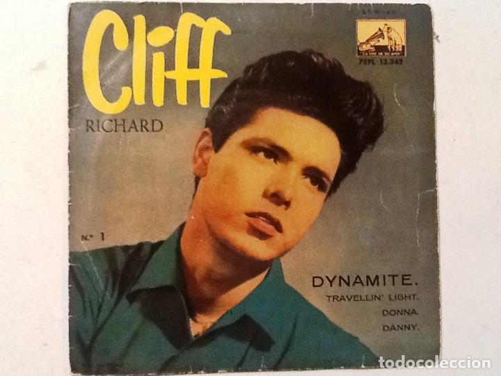 CLIFF RICHARD - DYNAMITE - 1959 (Música - Discos de Vinilo - EPs - Pop - Rock Internacional de los 50 y 60)