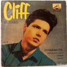 Discos de vinilo: CLIFF RICHARD - DYNAMITE - 1959 . Lote 76709887