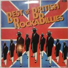 Discos de vinilo: BEST OF BRITISH ROCKABILLIES - 1985 - CEF. Lote 76715663