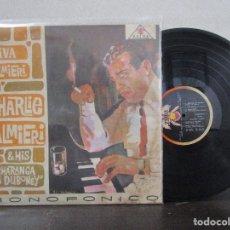 Discos de vinilo: VIVA CHARLIE PALMIERI CHARANGA LA DUBONEY PACHANGA CHA CHA SON MONTUNO LP T83 G MUY ESCASO. Lote 76718459