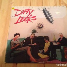Discos de vinilo: DIRTY LOOKS -TURN OF THE SCREW -LP HEAVY METAL HARD ROCK AOR. Lote 76740443