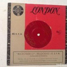 Discos de vinilo: THE STARGAZERS, TU TU TU , VAYA CON DIOS EP LONDON MICROSURCO BEP 6127 ED.. Lote 76741639