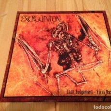 Discos de vinilo: EXCRUCIATION - LAST JUDGEMENT - FIRST ASSAULT DOBLE LP THRASH METAL. Lote 76745699