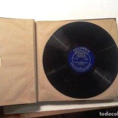 Discos de vinilo: THE PRADES FESTIVAL PABLO CASALS 1950 ALBUM CON 6 LP COLUMBIA. Lote 76750311