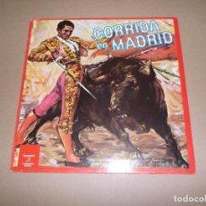 Discos de vinilo: BANDA DE MUSICA DE LA ACADEMIA AUXILIAR MILITAR (LP) CORRIDA EN MADRID AÑO 1961 – REEDICION 1972. Lote 76766431