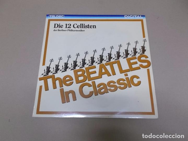 DIE 12 CELLISTEN DER BERLINER PHILHARMONIKER (LP) THE BEATLES IN CLASSIC AÑO 1986 (Música - Discos - LP Vinilo - Orquestas)