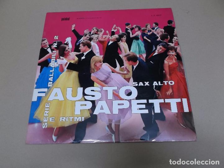 FAUSTO PAPETTI (LP) RACCOLTA Nº 2 AÑO 1971 (Música - Discos - LP Vinilo - Orquestas)