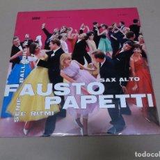 Disques de vinyle: FAUSTO PAPETTI (LP) RACCOLTA Nº 2 AÑO 1971. Lote 76770911
