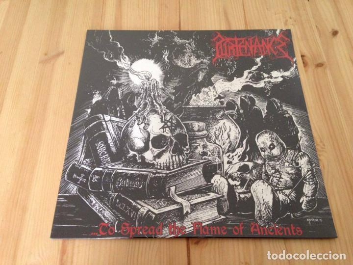 PURTENANCE -...TO SPREAD THE FLAME OF ANCIENTS LP DEATH METAL GRIND CORE (Música - Discos - LP Vinilo - Heavy - Metal)