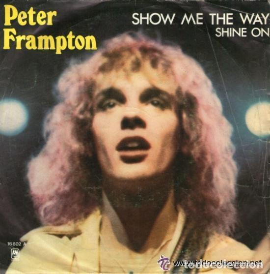 a8efb9dd3868b Peter frampton - show me the way - single spain - Sold through ...