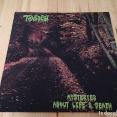 Discos de vinilo: TOXODETH ‎-MYSTERIES ABOUT LIFE AND DEATH -LP DEATH METAL. Lote 76774019