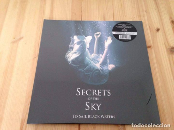 SECRETS OF THE SKY -TO SAIL BLACK WATERS -LP DEATH METAL DOOM (Música - Discos - LP Vinilo - Heavy - Metal)