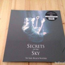 Discos de vinilo: SECRETS OF THE SKY -TO SAIL BLACK WATERS -LP DEATH METAL DOOM. Lote 76778515